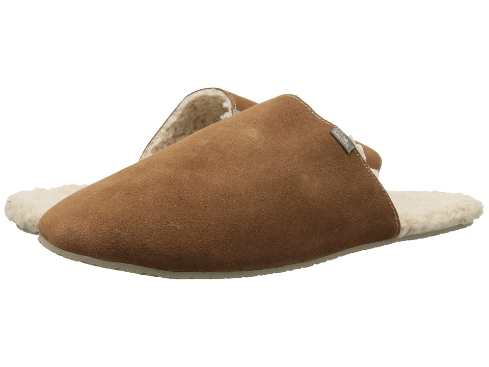 Sanuk - Half Dome Suede (Chestnut) Men's Slippers