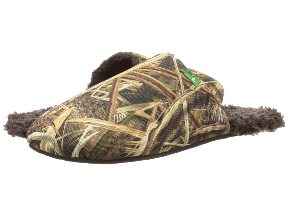 Sanuk - Half Dome Blades (Mossy Oak) Men's Slippers