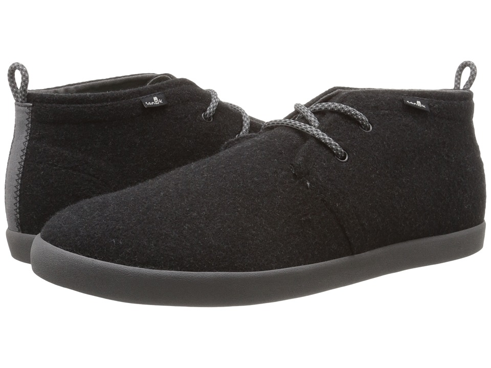 Sanuk - Cargo TX (Charcoal Wool) Men's Lace up casual Shoes