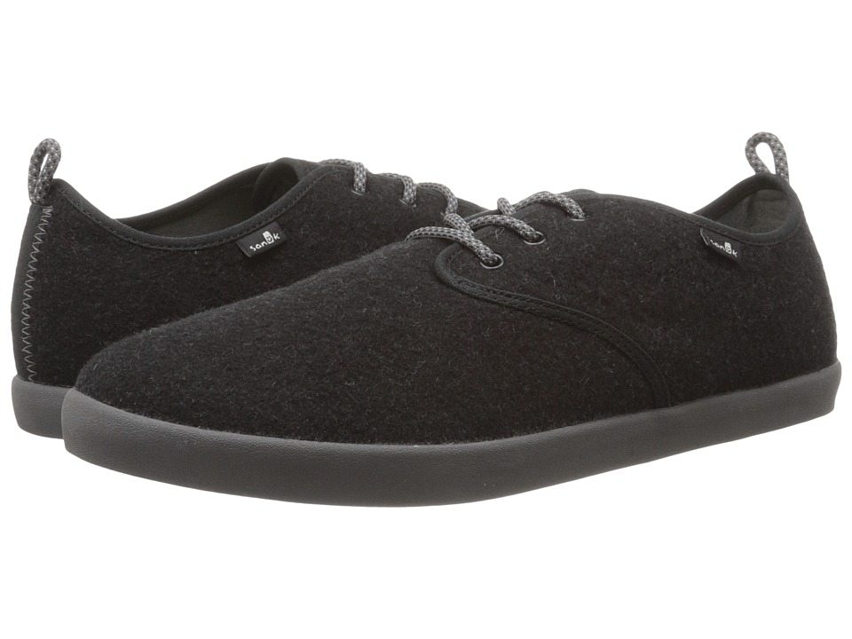 Sanuk - Guide TX (Charcoal Wool) Men's Lace up casual Shoes