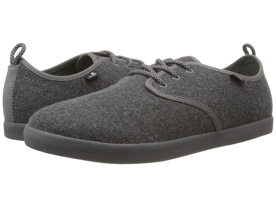 Sanuk - Guide TX (Grey Wool) Men's Lace up casual Shoes