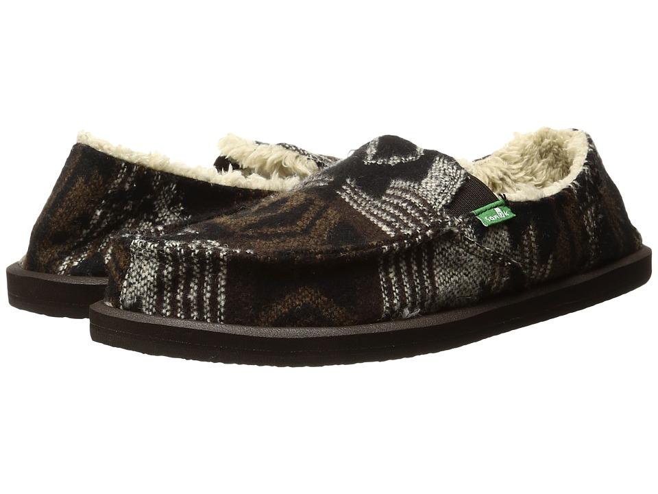 Sanuk - Siena (Natural Navajo) Women's Slippers