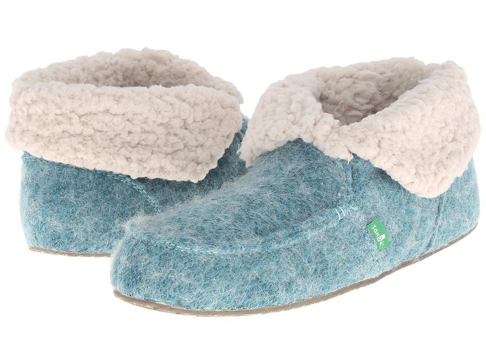 Sanuk - Slumbrrr (Eggshell) Women's Slippers