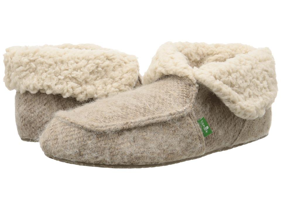 Sanuk - Slumbrrr (Tan) Women's Slippers