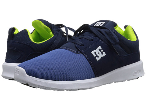DC - Heathrow (Blue/Blue/Green) Skate Shoes