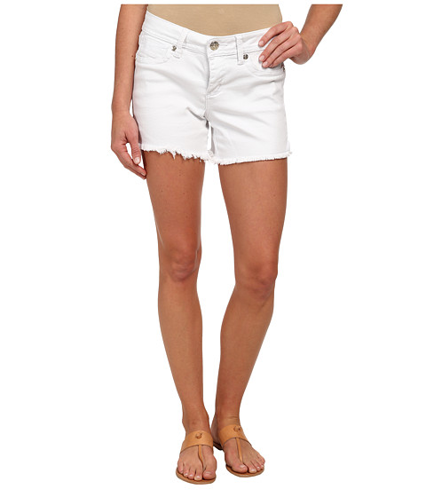 Seven7 Jeans - Fray Shorts (Bianco) Women's Shorts
