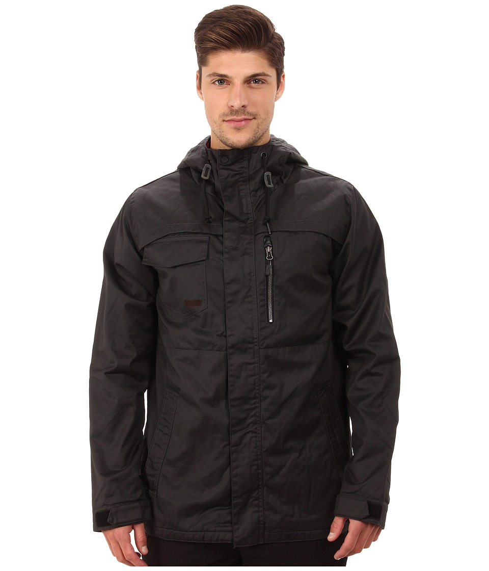 Volcom Snow - Monrovia Insulated Jacket (Black 2) Men's Coat