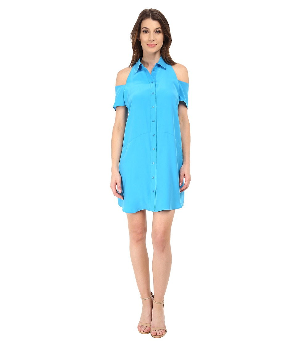 Amanda Uprichard - Kent Dress (Azure) Women's Dress