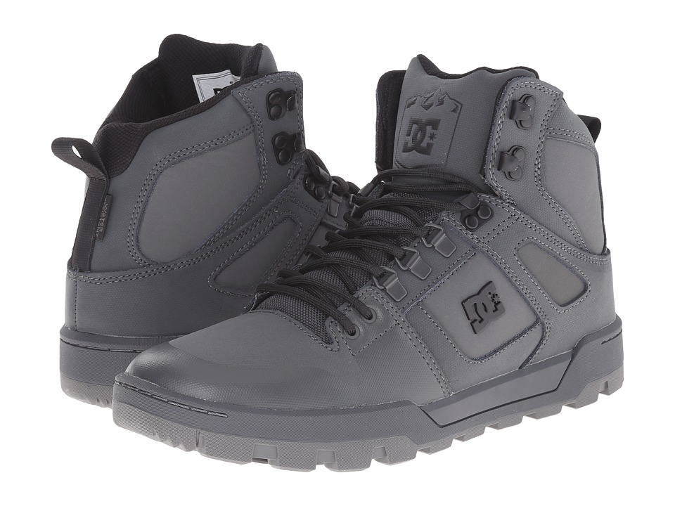 DC - Spartan High WR Boot (Grey/Grey/Grey) Men's Boots