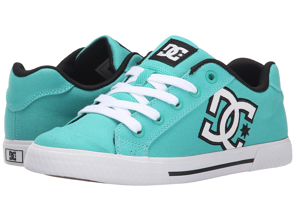 DC - Chelsea W (Teal) Women's Skate Shoes