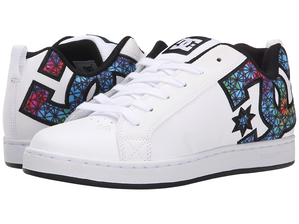 DC - Court Graffik SE W (White Geo) Women's Skate Shoes
