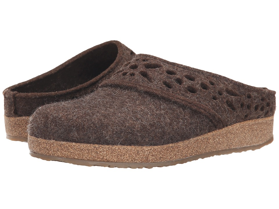 Haflinger - Lacey (Chocolate) Women's Slippers