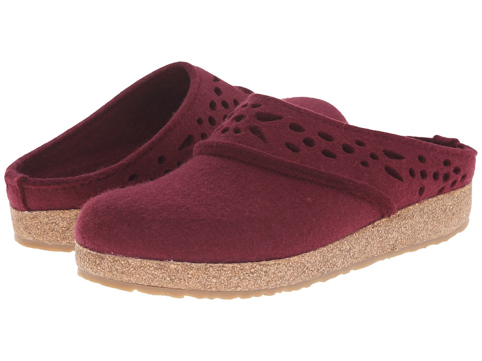 Haflinger - Lacey (Bordo) Women's Slippers