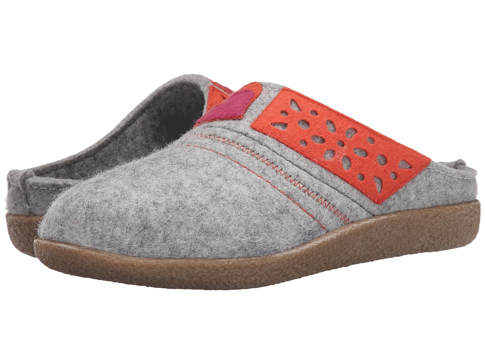 Haflinger - Juliet (Silver Grey) Women's Slippers