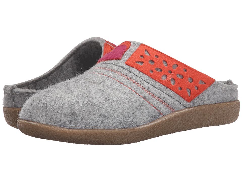 Haflinger - Juliet (Silver Grey) Women's Slippers