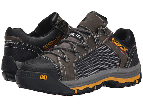 Caterpillar - Convex Lo Steel Toe (Dark Gull Grey) Men's Work Boots