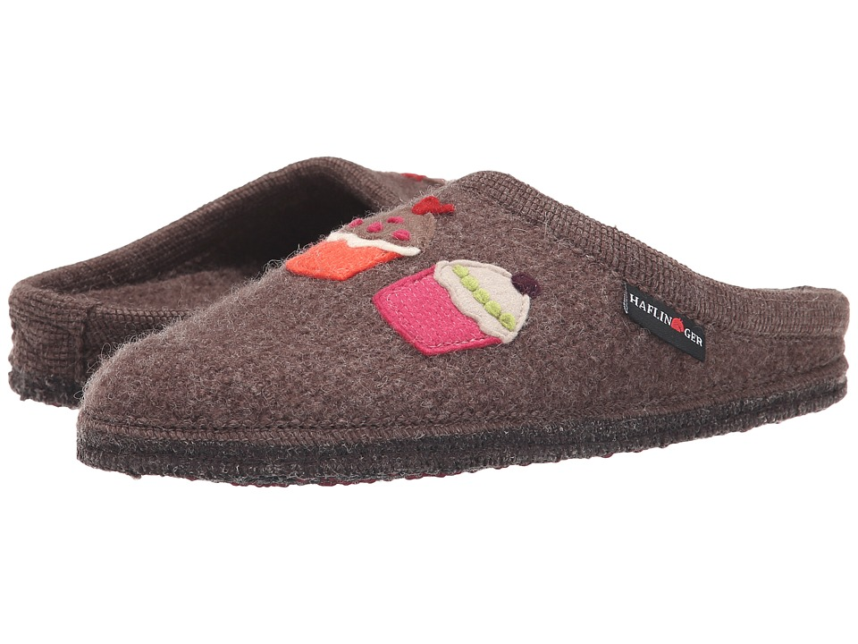 Haflinger - Sweetie (Smokey Brown) Women's Slippers