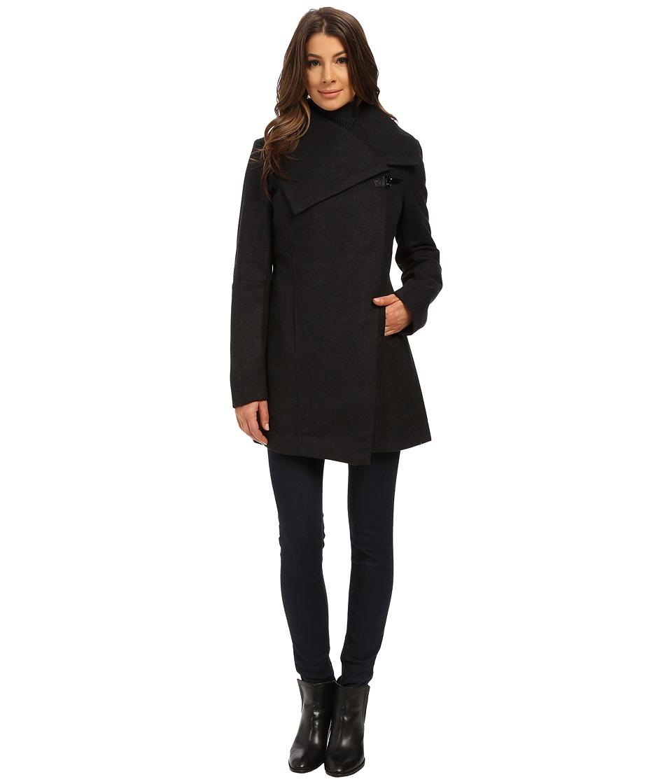 Sam Edelman - Clip Coat (Charcoal) Women's Coat