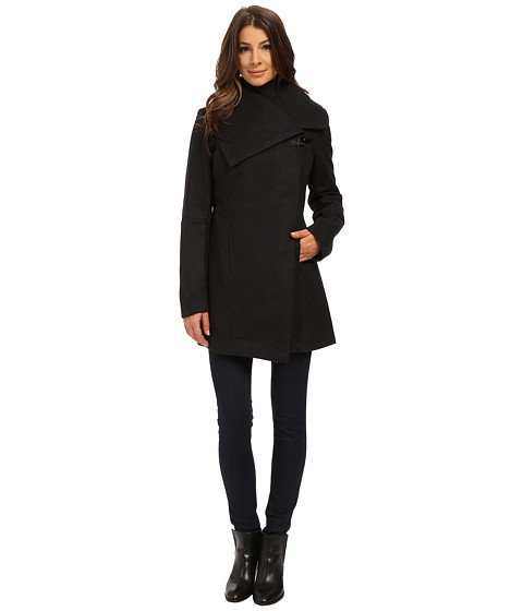 Sam Edelman - Clip Coat (Charcoal) Women