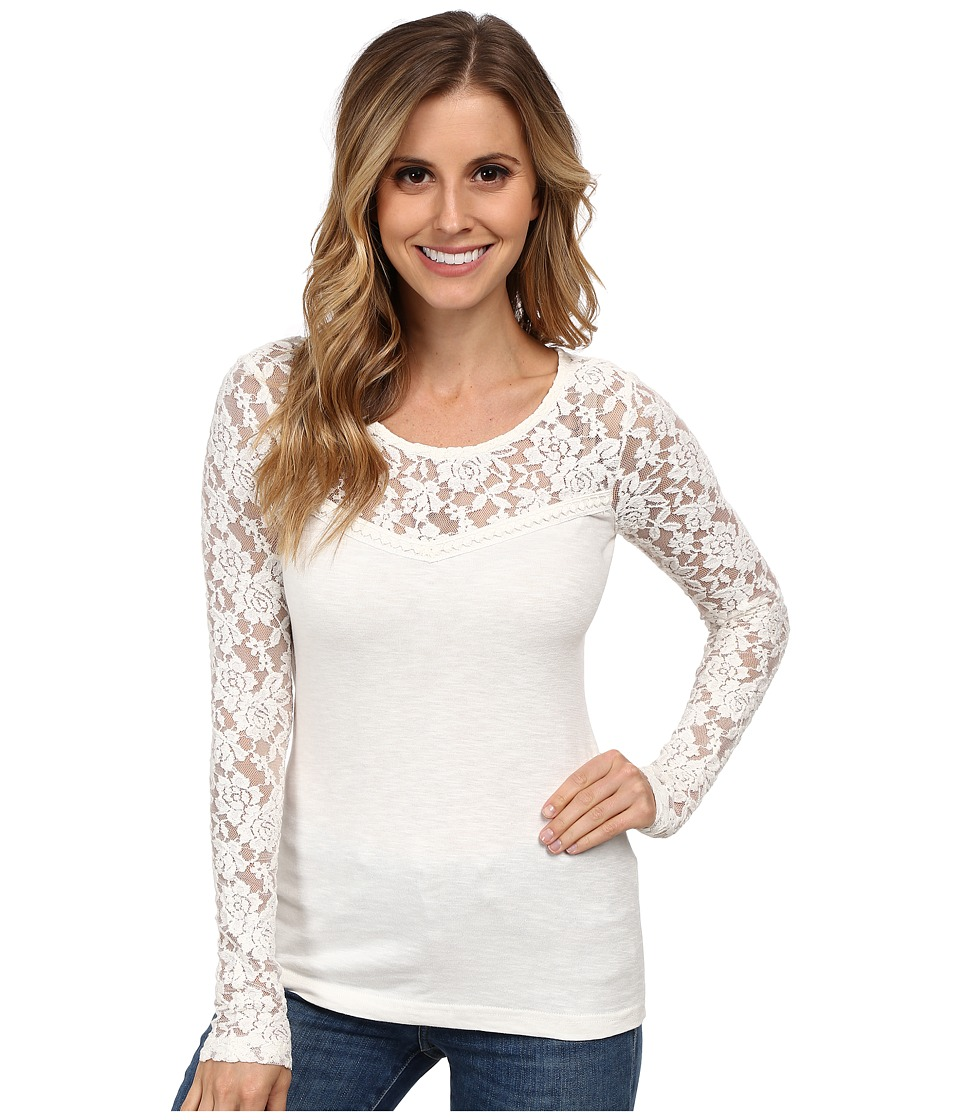 Ariat - Alison Knit Top (Whisper White) Women