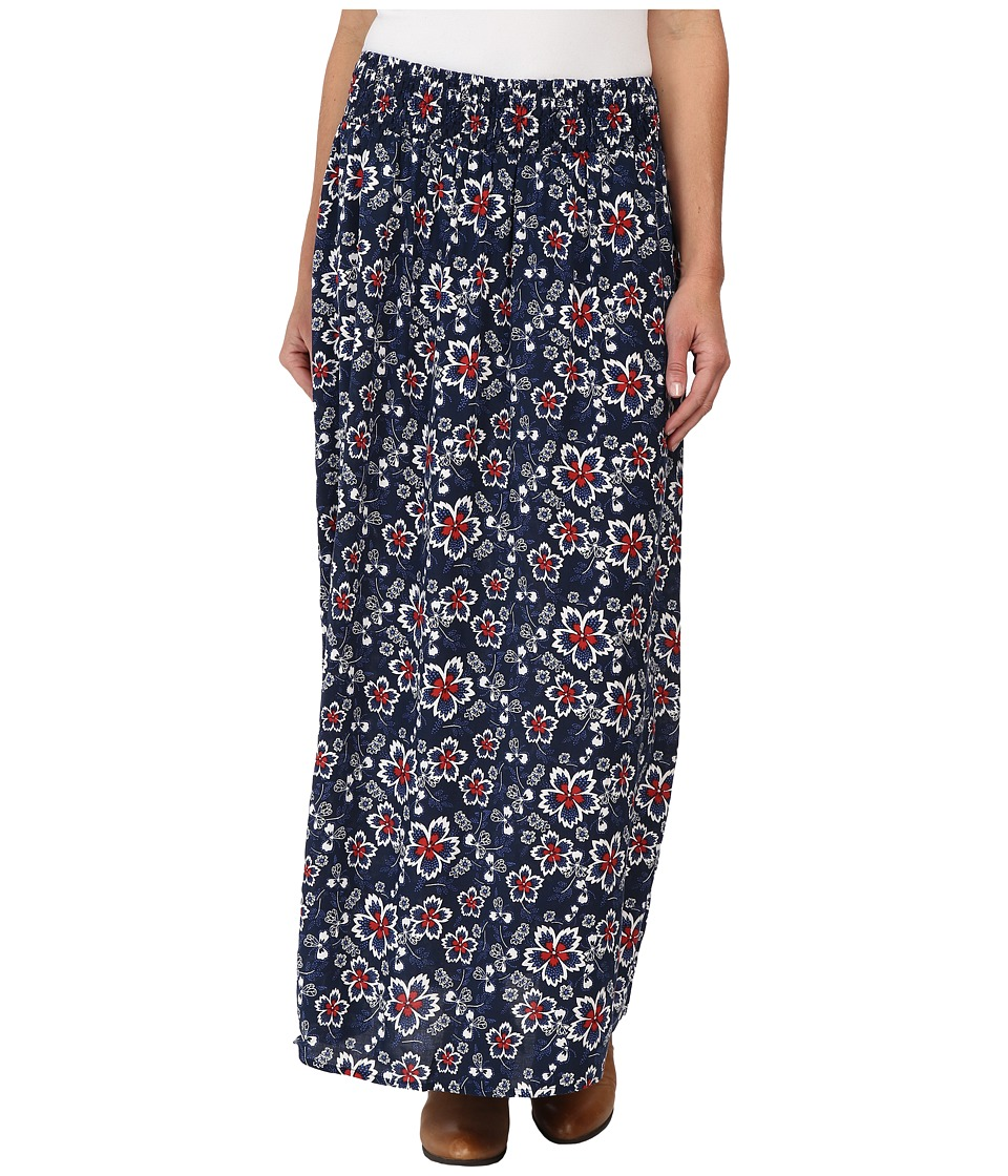 Ariat - Emmy Maxi Skirt (Black Iris Multi) Women