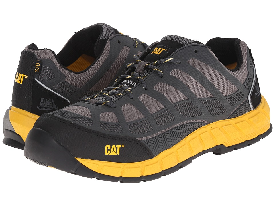 Caterpillar - Streamline ESD Composite Toe (Grey) Men's Work Boots