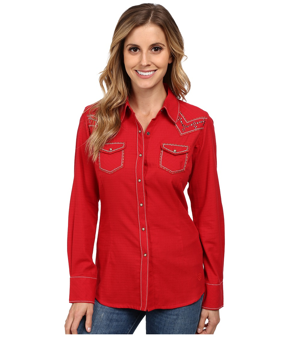 Ariat - Angeleena Snap Shirt (Samba) Women