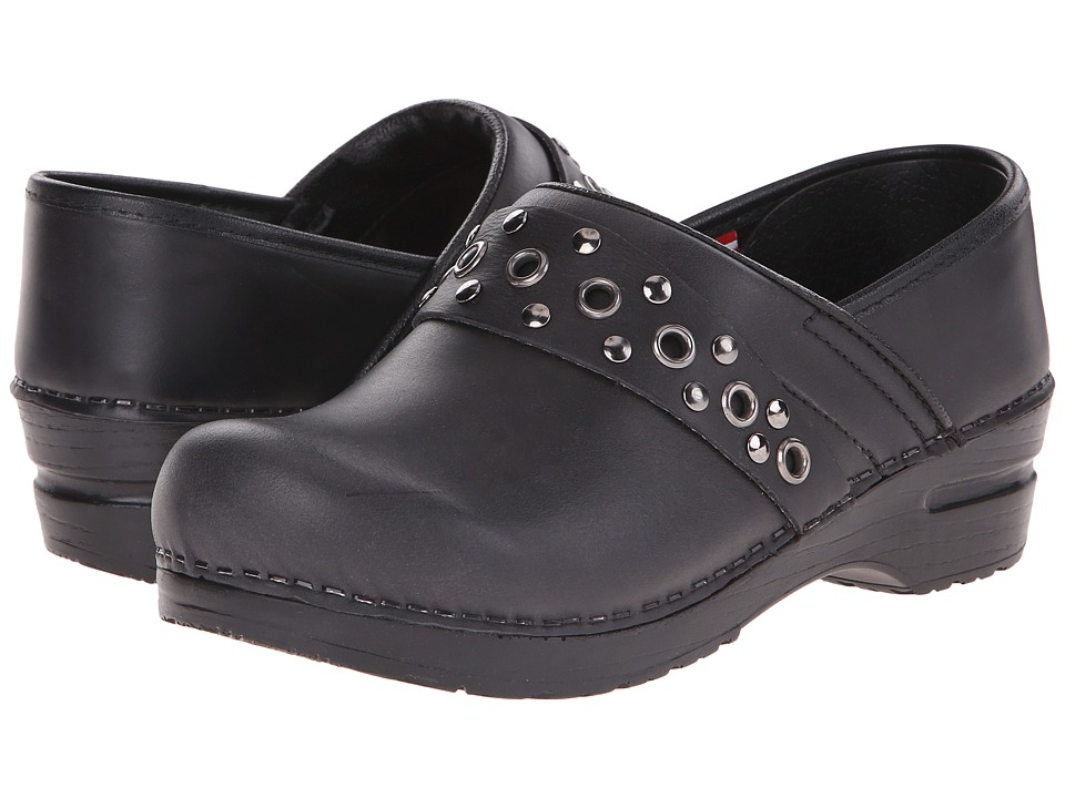 Sanita - Original Caddo (Black) Women's Clog Shoes