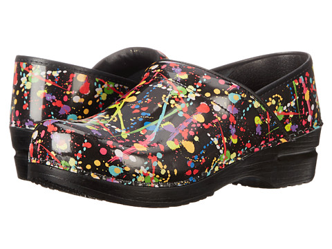 Sanita - Splatter (Multi Printed Patent) Women's Shoes