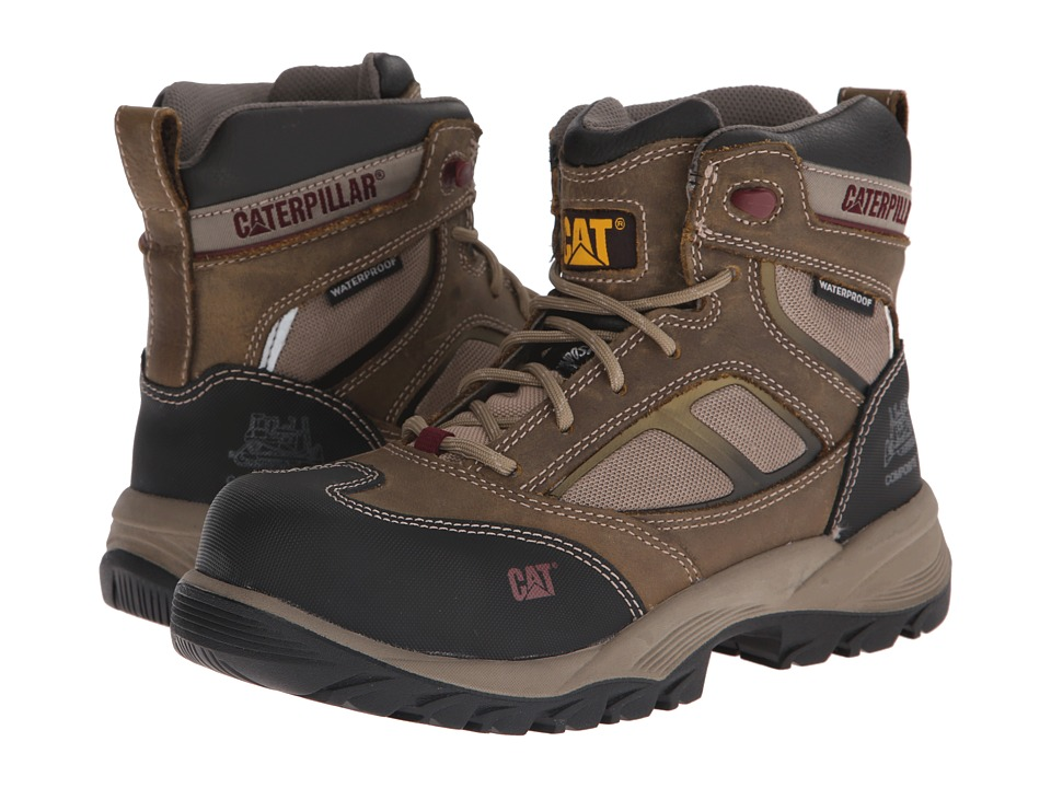 Caterpillar - Shaman 6 Waterproof Composite Toe (Kelp) Women's Work Boots