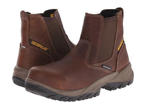 Caterpillar - Veneer Waterproof Composite Toe (Sundance) Women's Waterproof Boots