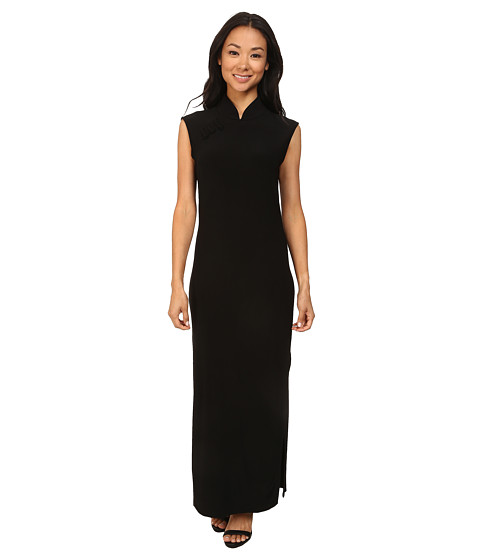 KAMALIKULTURE by Norma Kamali - Sleeveless Suzie Q Half Calf Dress (Black) Women