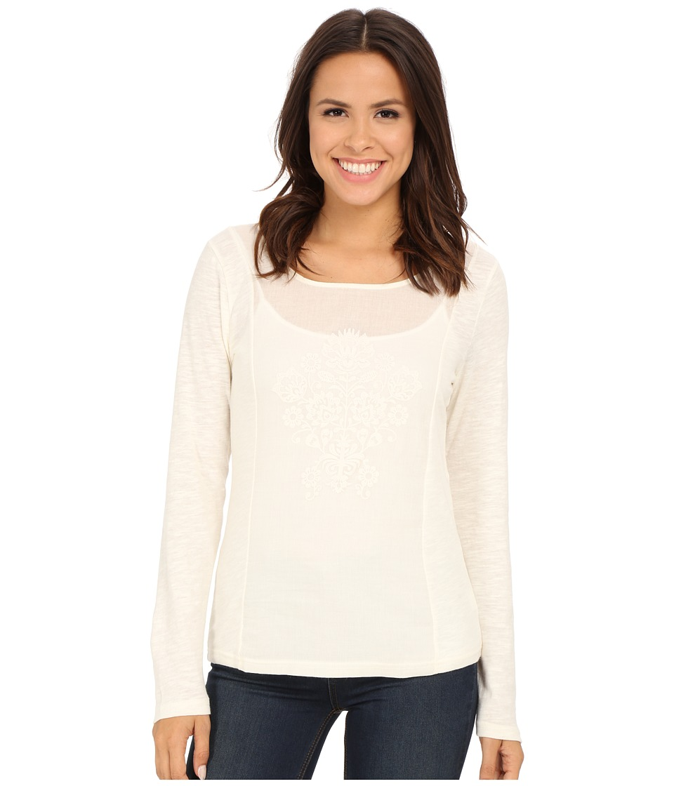 Ariat - Pearl Top (Whisper White) Women's Long Sleeve Pullover