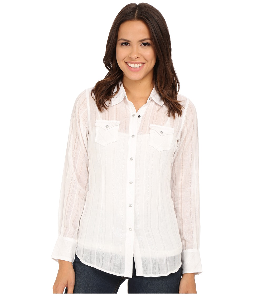 Ariat - Alice Snap Shirt (White) Women
