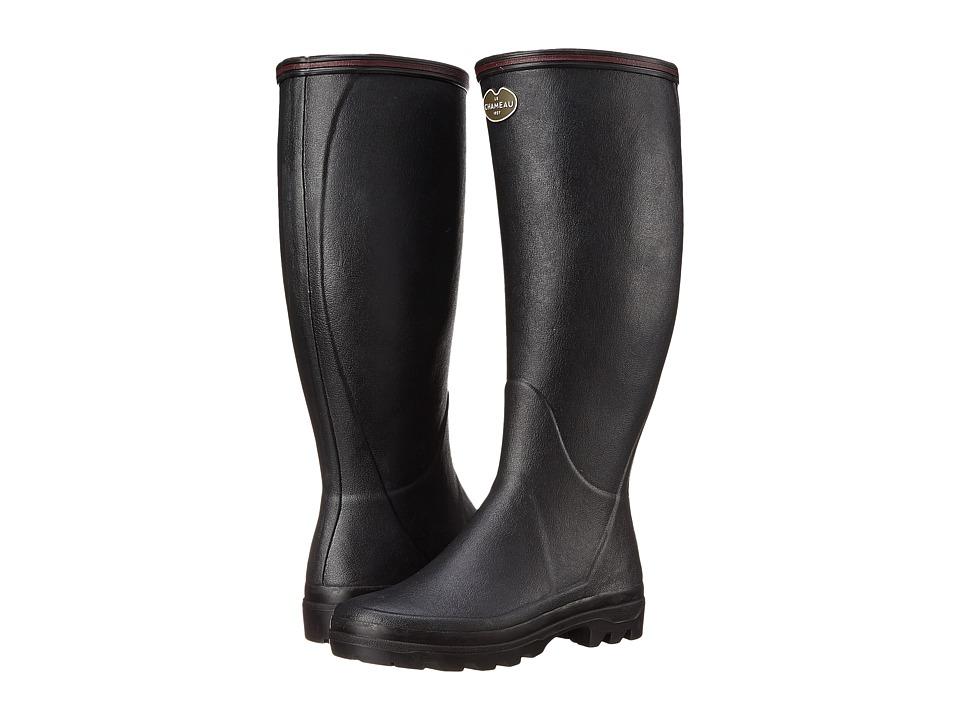 Le Chameau - Giverny (Noir) Women's Work Boots