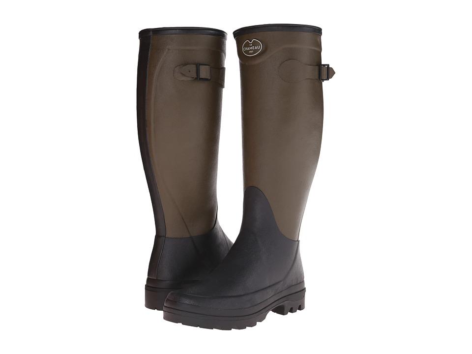 Le Chameau - Manoir (Vert Chameau/Noir) Women's Work Boots