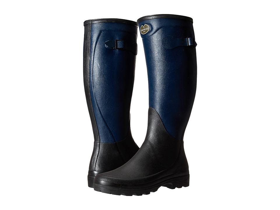 Le Chameau - Manoir (Marine/Noir) Women's Work Boots