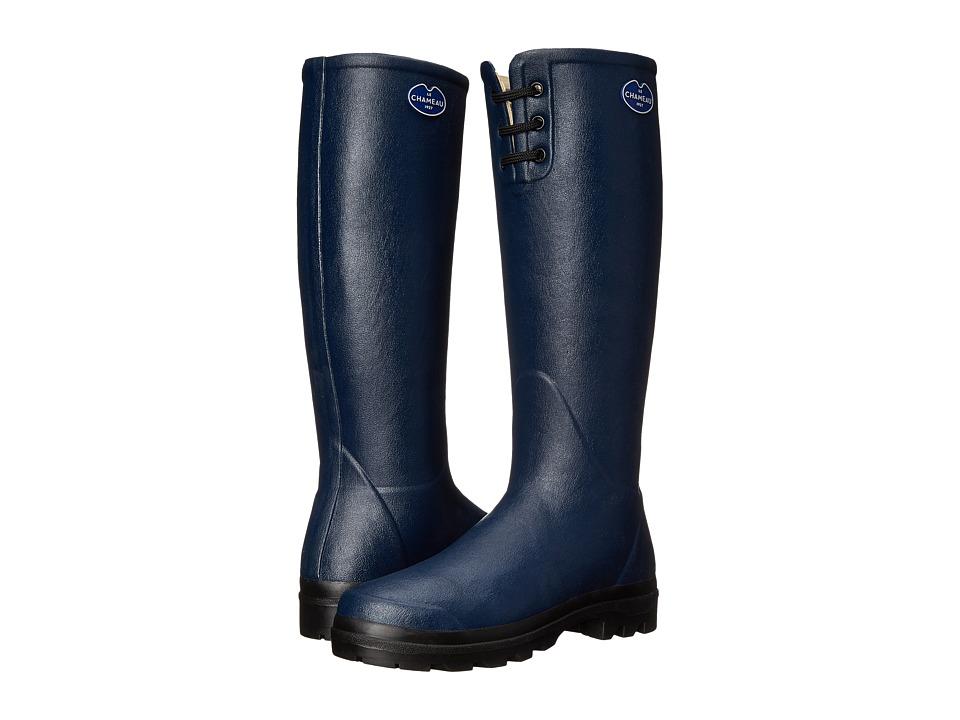 Le Chameau - Lisiere (Marine) Women's Work Boots