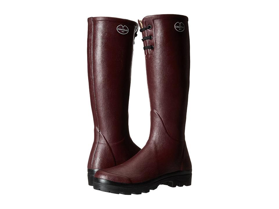Le Chameau - Lisiere (Cherry) Women's Work Boots