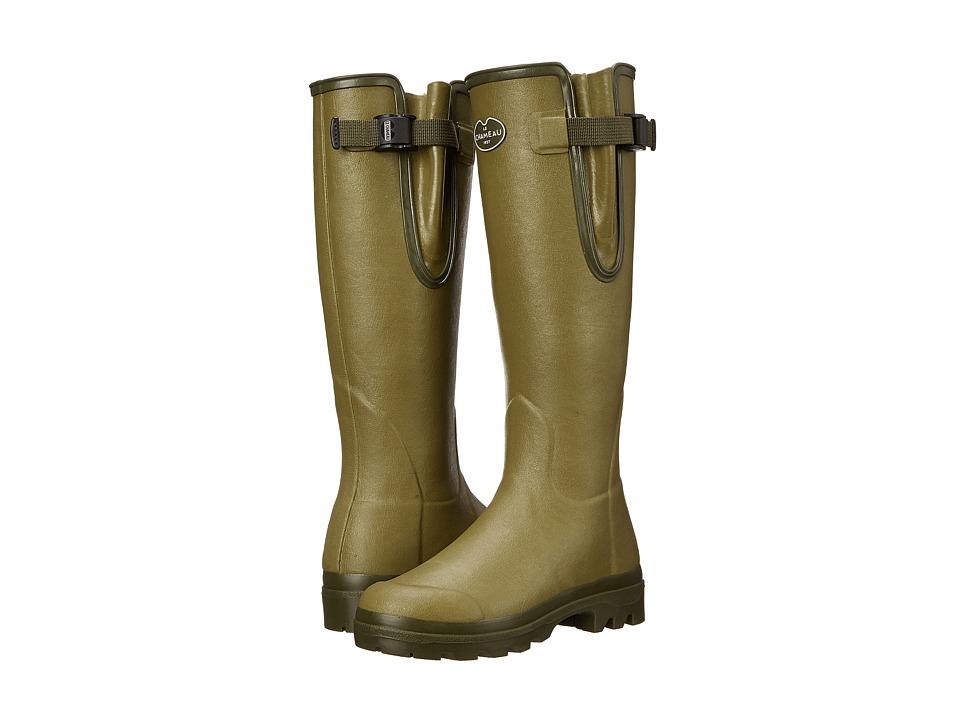 Le Chameau - Vierzon Jersey (Vert Vierzon) Women's Work Boots