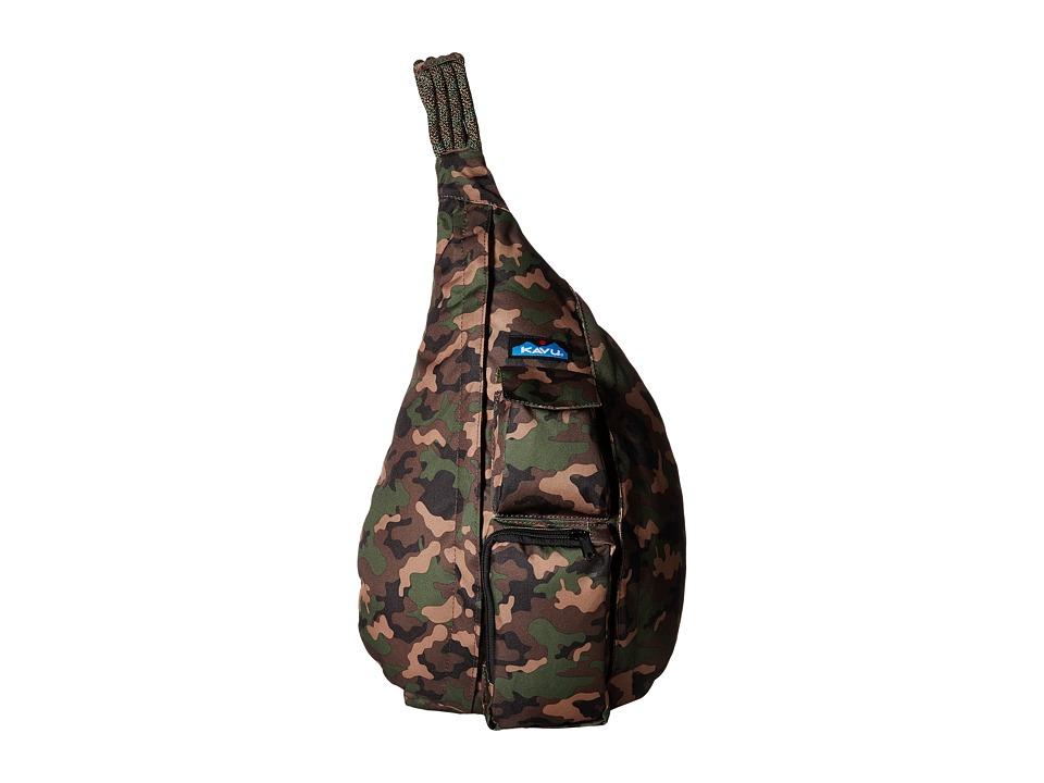 KAVU - Rope Sling (Camo) Sling Handbags