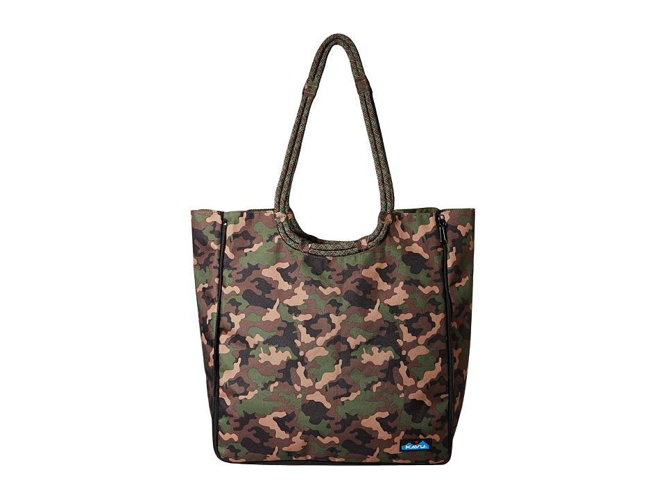 KAVU - Market Bag (Camo) Bags