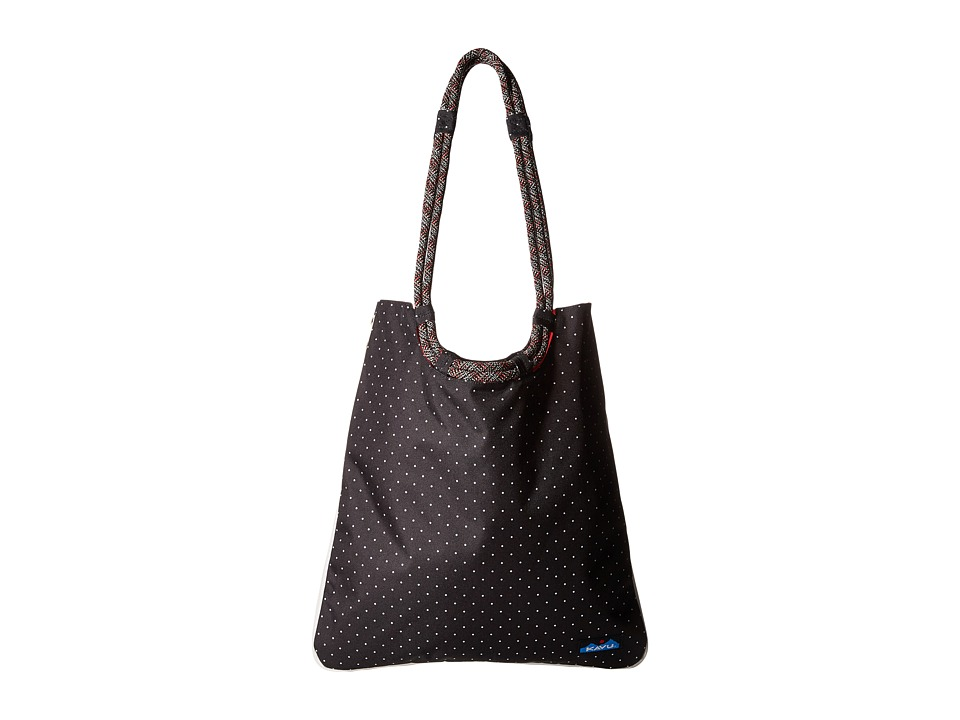 KAVU - Market Bag (Black/White Dots) Tote Handbags