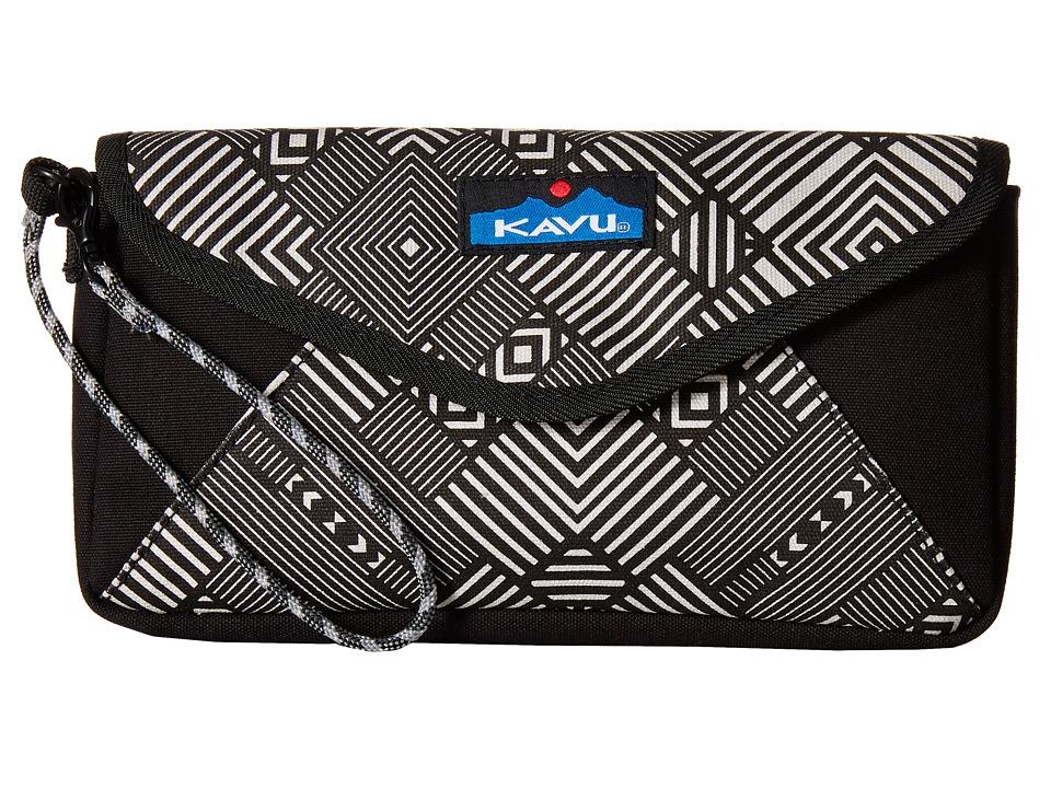 KAVU - Envylope (Stone Maze) Clutch Handbags