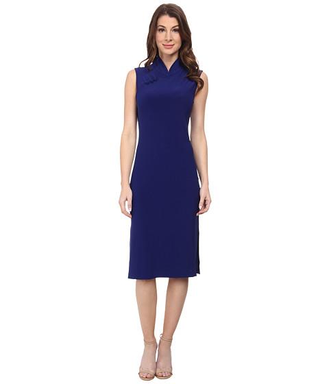 KAMALIKULTURE by Norma Kamali - Sleeveless Suzie Q Dress (Blueberry) Women