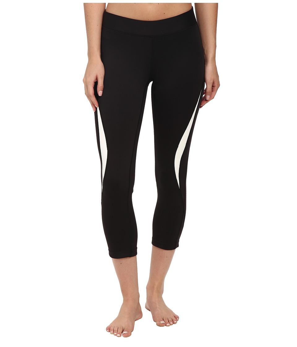 Rebecca Minkoff - Avery Cropped Leggings (Black/White) Women's Casual Pants