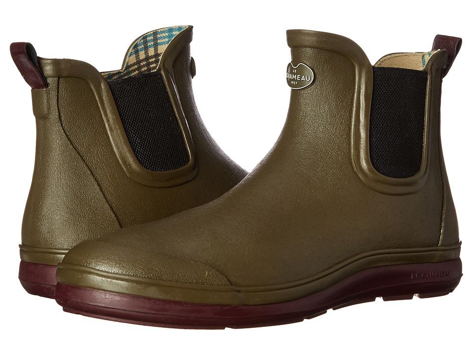 Le Chameau - Belleville (Vert Chameau/Cherry) Men's Work Boots