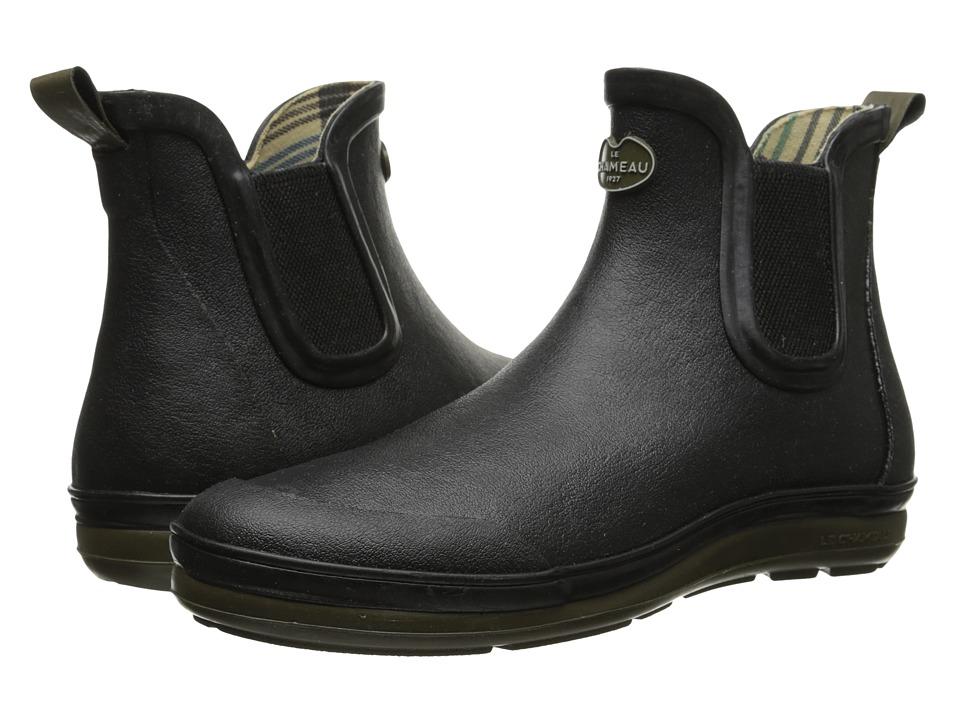 Le Chameau - Belleville (Noir/Vert Chameau) Men's Work Boots