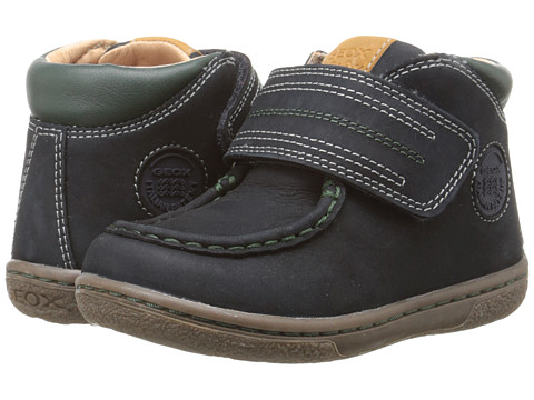 Geox Kids - Flick 37 (Toddler) (Navy/Dark Green) Boy's Shoes