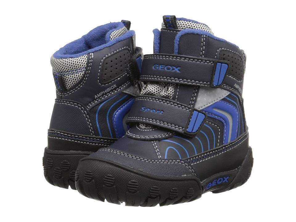 Geox Kids - Gulp Abx 3 (Toddler) (Dark Navy/Royal) Boys Shoes